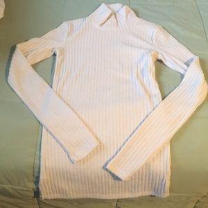 Aritzia Wilfred Buswell Sweater XS Heather Birch